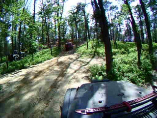 15 -Red XJ Stuck Climb