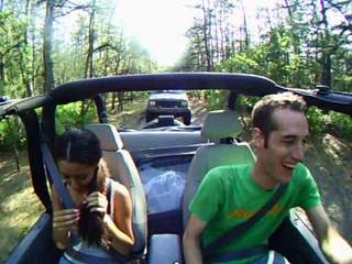 23 - Rick Aarika in Jeep 1