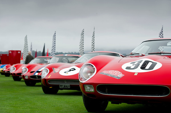 250 GTOs AT PEBBLE BEACH