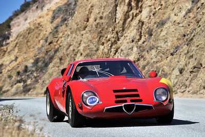 ALFA TZ2 - PEBBLE TOUR