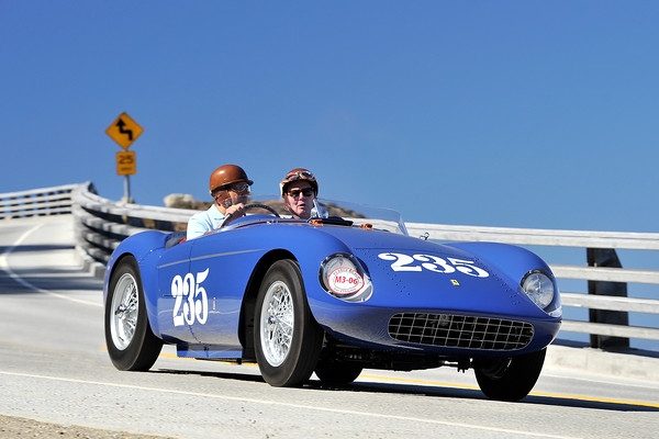 FERRARI 500 MONDIAL - PEBBLE TOUR