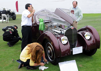 BUGATTI PREPARATION