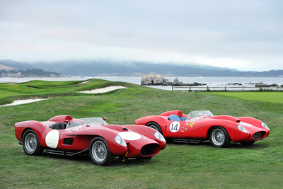 TESTA ROSSAS AT PEBBLE BEACH