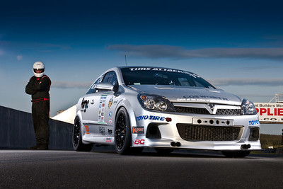 Time Attack driver Bo Nielsen and his Astra VXR...