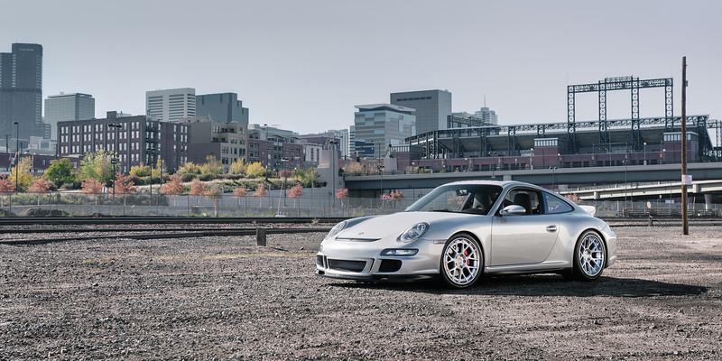 Porsche 997 Supercharged   ADV.1 wheels