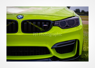 BMW M4 Nose Detail