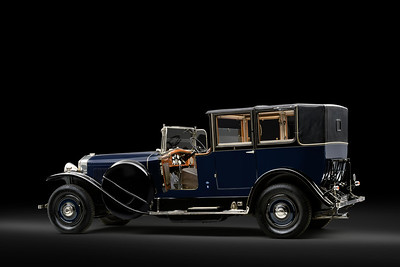 ISOTTA FRASCHINI TIPO 8A LANDAULET