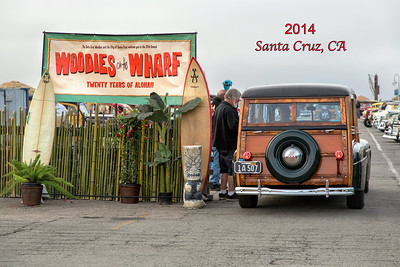 Woodies on the Wharf - 2014