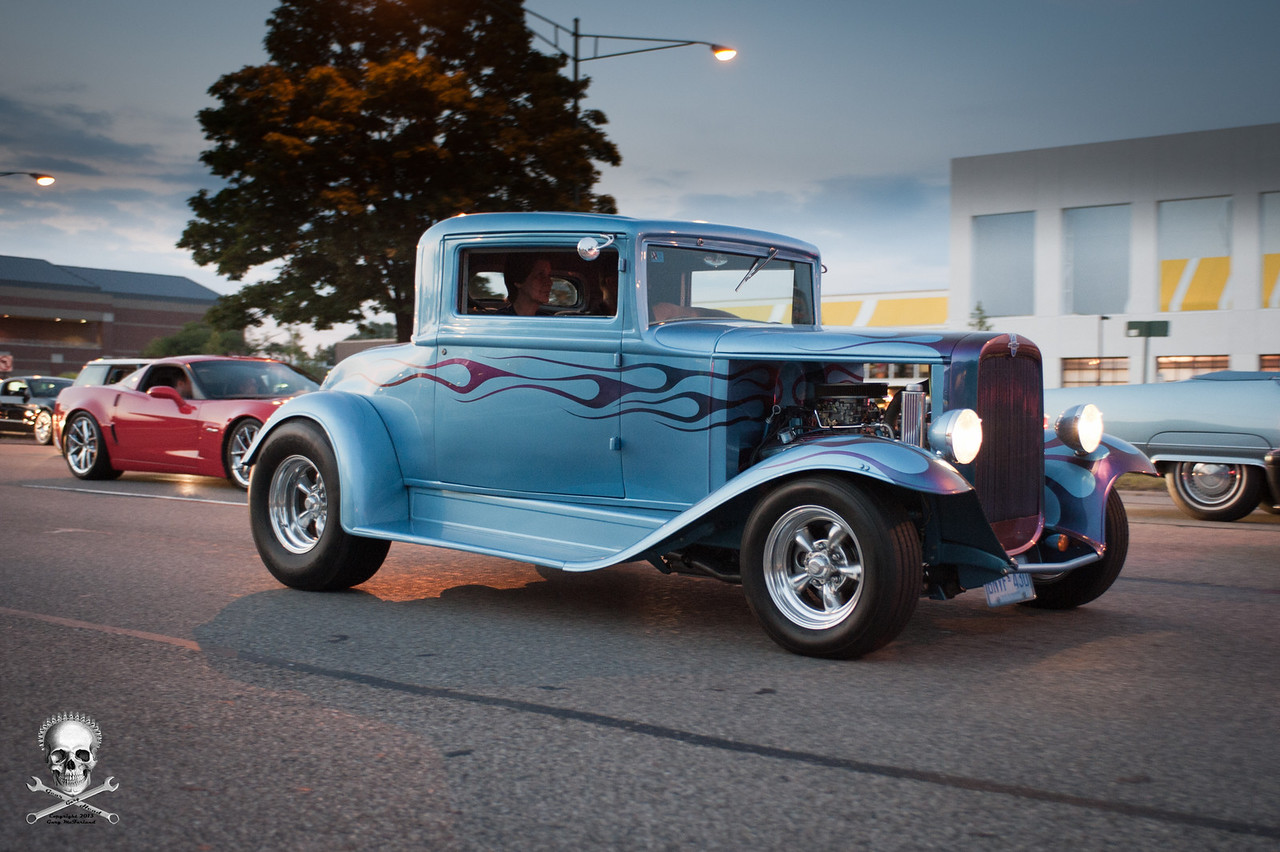 Nice, classic style Model A coupe