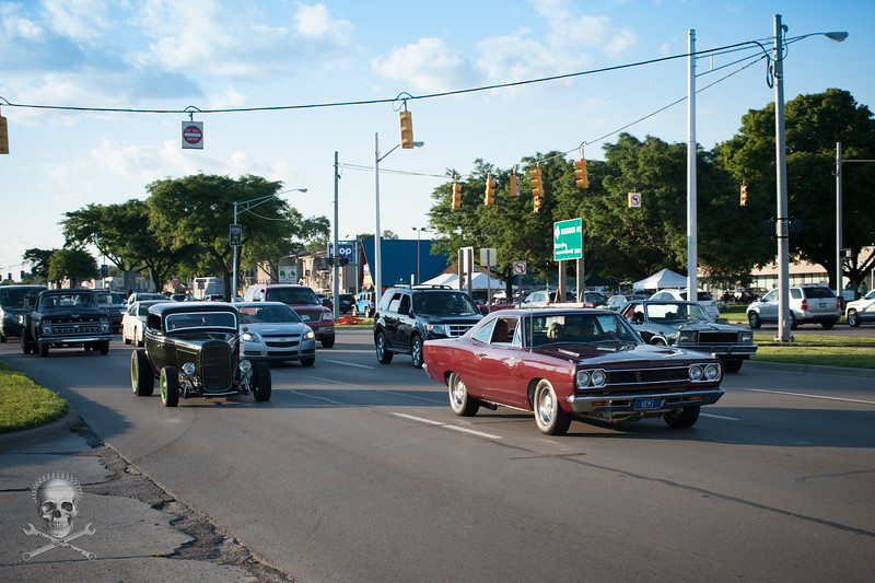 Woodward Dream Cruise, Wednesday, August 12 2015