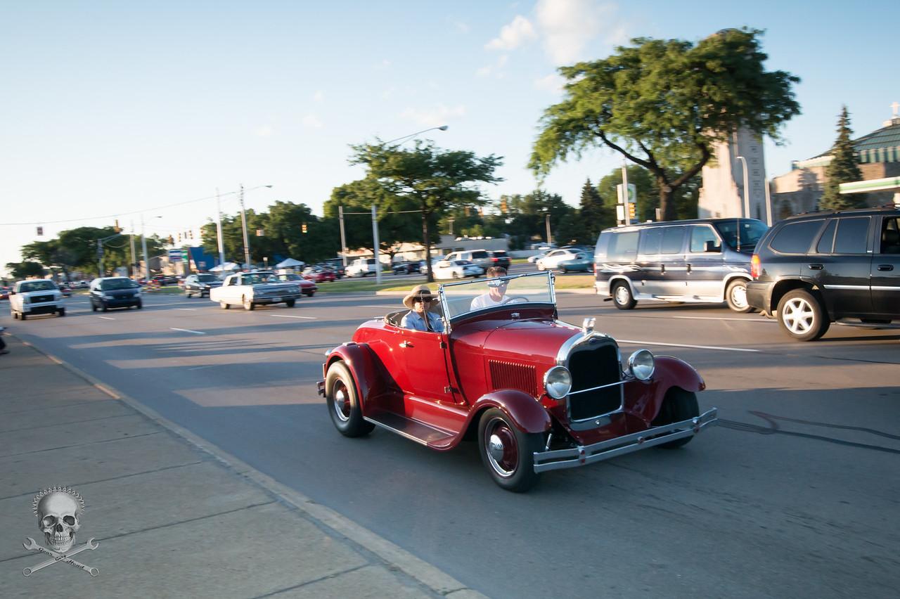 Woodward Dream Cruise, Wednesday, August 12 2015