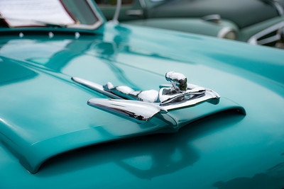1955 Nash Rambler hood ornament