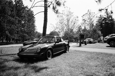 Porsches in the Park