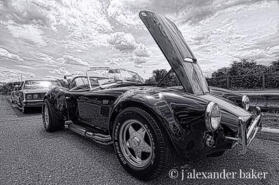1966 Cobra B&W