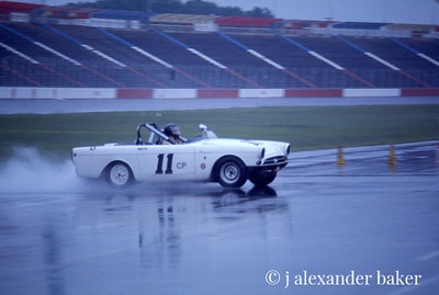 Sunbeam Tiger in SCCA Race, Charlotte, 1975
