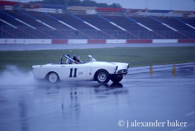 Sunbeam Tiger in SCCA Race, Charlotte, 1975