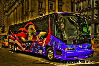 Tour Bus, New York City