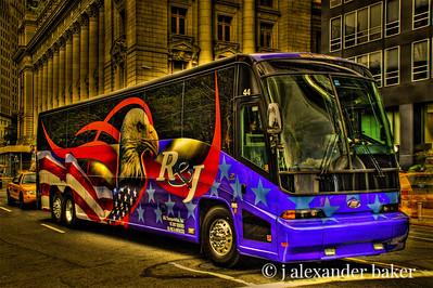 Tour Bus, New York City
