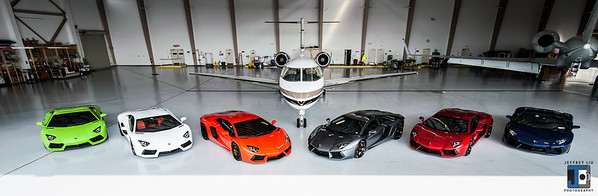 Hexaventador Hanger Shoot