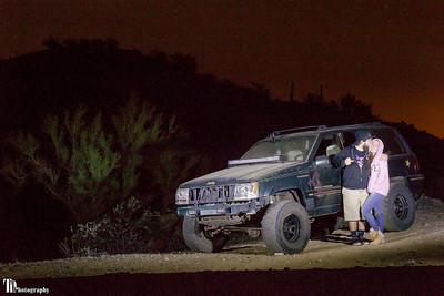 John, Sam, and the Jeep