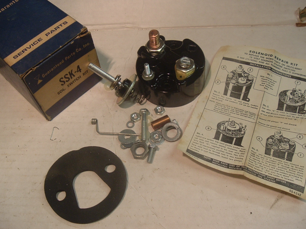 View Product1957 -71 Chevrolet Buick Pontiac Cadillac solenoid repair kit (a ssk4)
