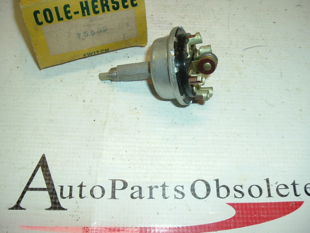 1954 Desoto windshield wiper switch (a 75009)