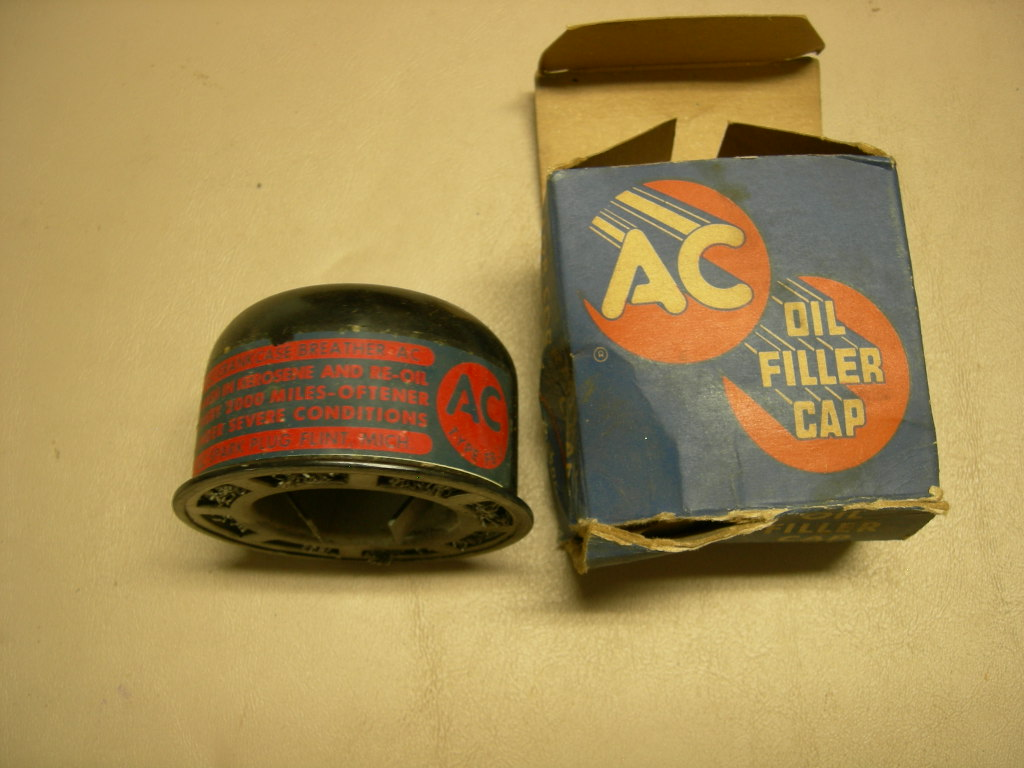 1949 50 Cadillac oil filler cap NOS 1552228 (a 1552228)