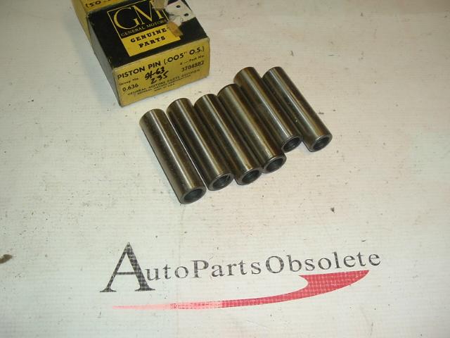 1954 -63 Chevrolet 235 piston pins nos gm 3704882 (a 3704882)