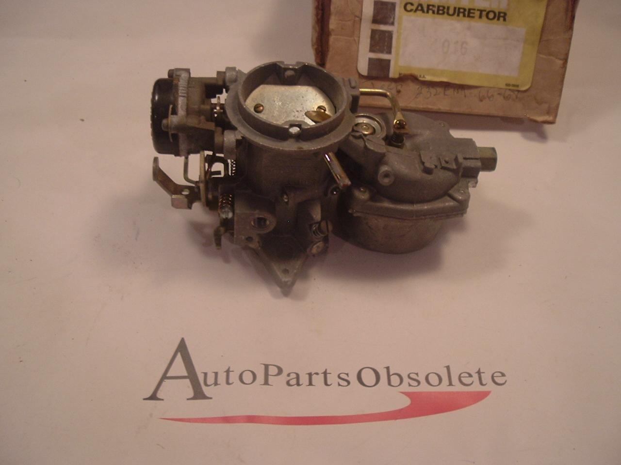 1965 -71 Jeep carburetor 232 6cyl nos carter #4016 (a 4016)