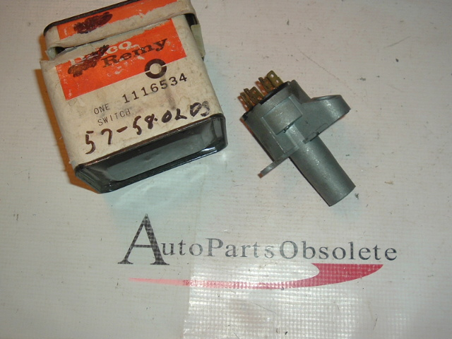 11957 1958 Oldsmobile Ignition switch nos 1116534 (A 1116534)