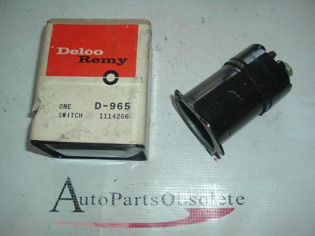 1961 62 63 Bucik special oldsmobile f85 starter solenoid (a 1114266)