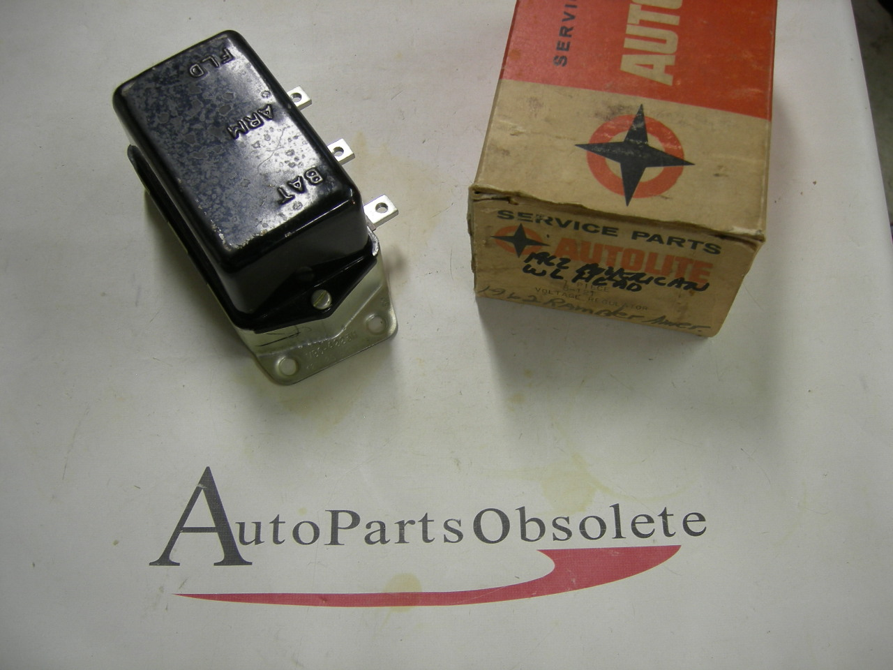 View Product1962 Rambler American voltage regulator NOS Autolite (a 8-121)