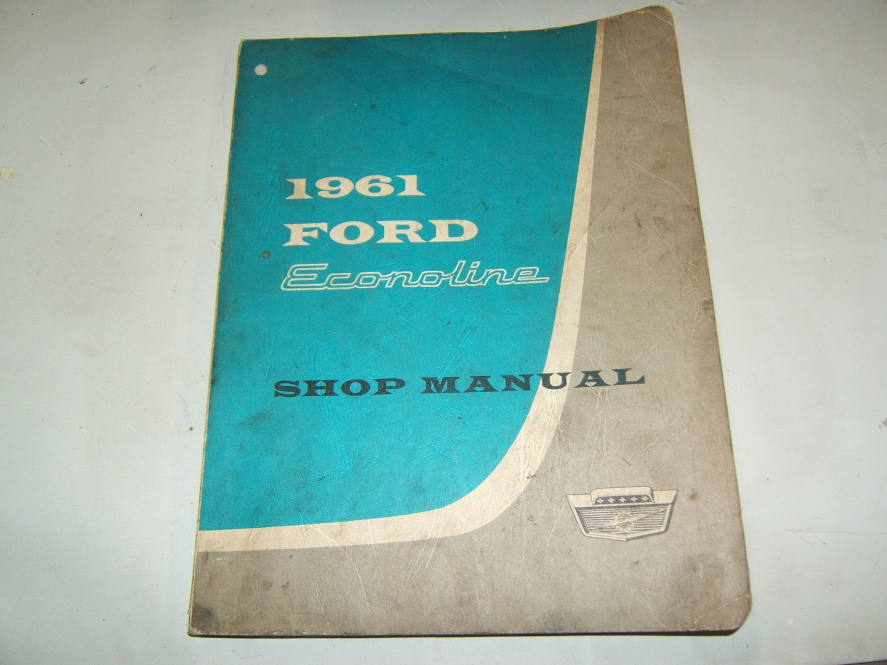 1961 Ford Econoline van service manual factory original (a 61 fordeconman)