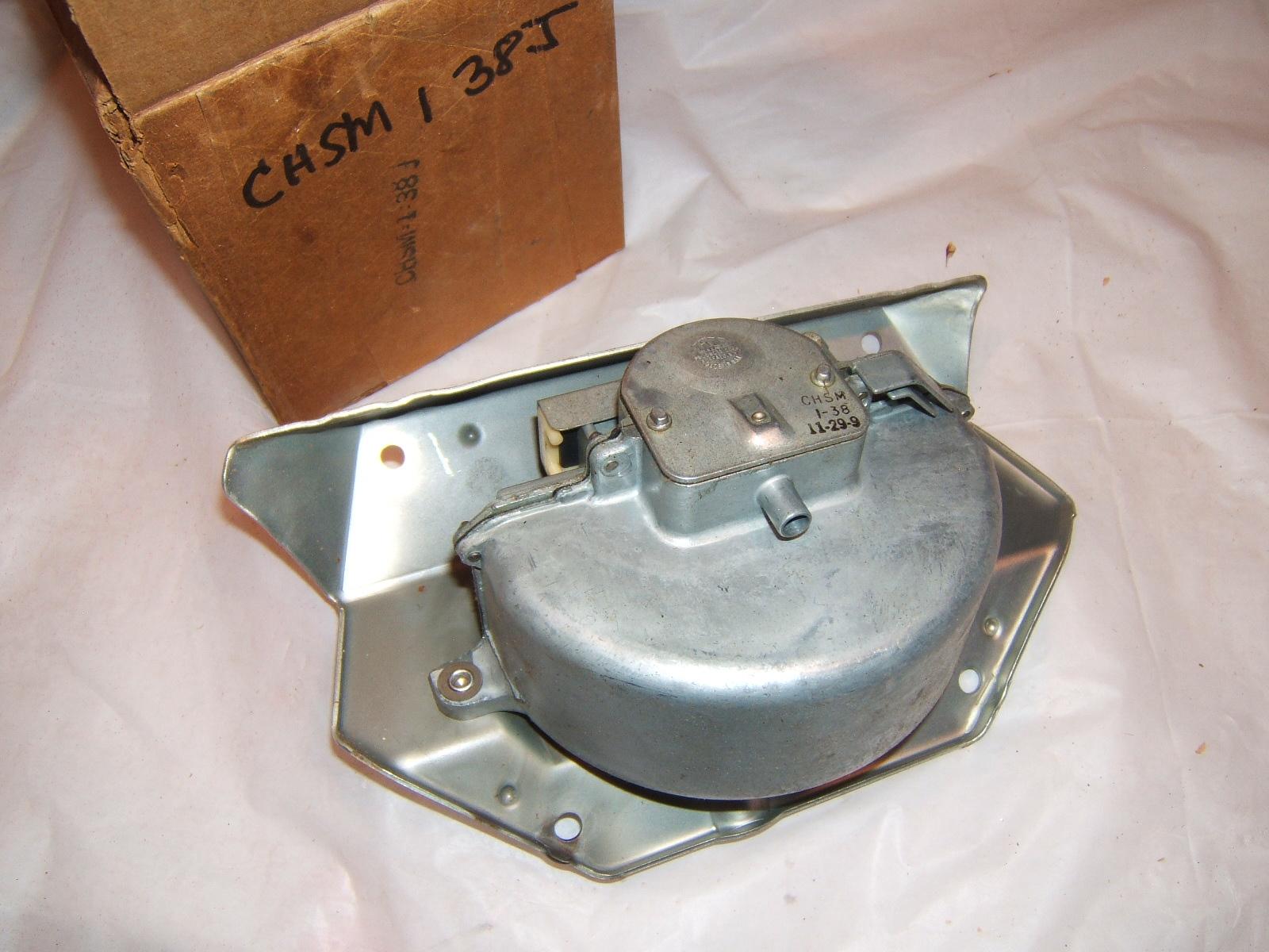 1964 -69 Rambler American & Scrambler windshield wiper motor nos Trico CHSM1-38J (a Chsm1-38j)
