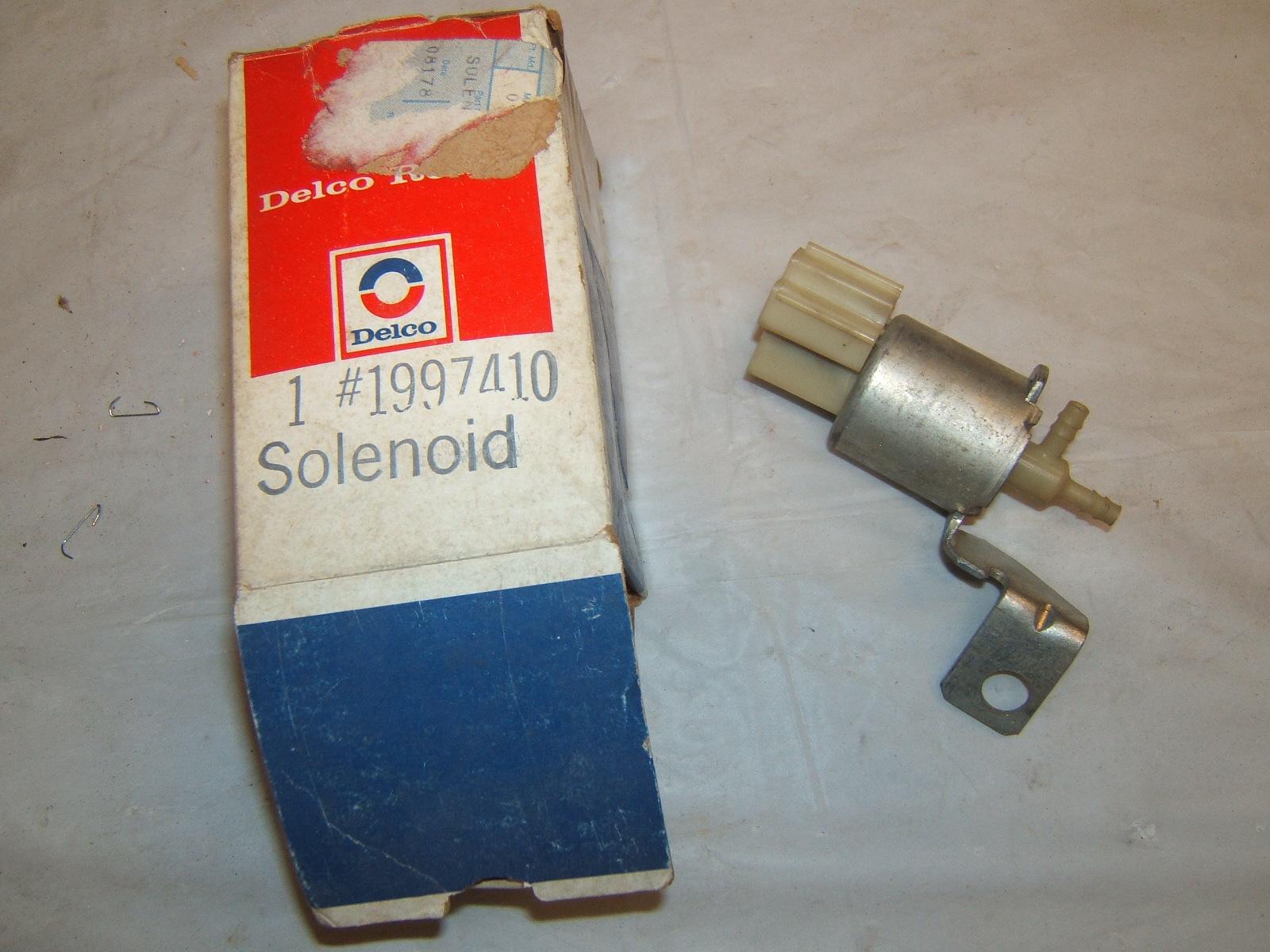 1973 1974 corvette camaro idle solenoid # 1997410 (a 1997410)