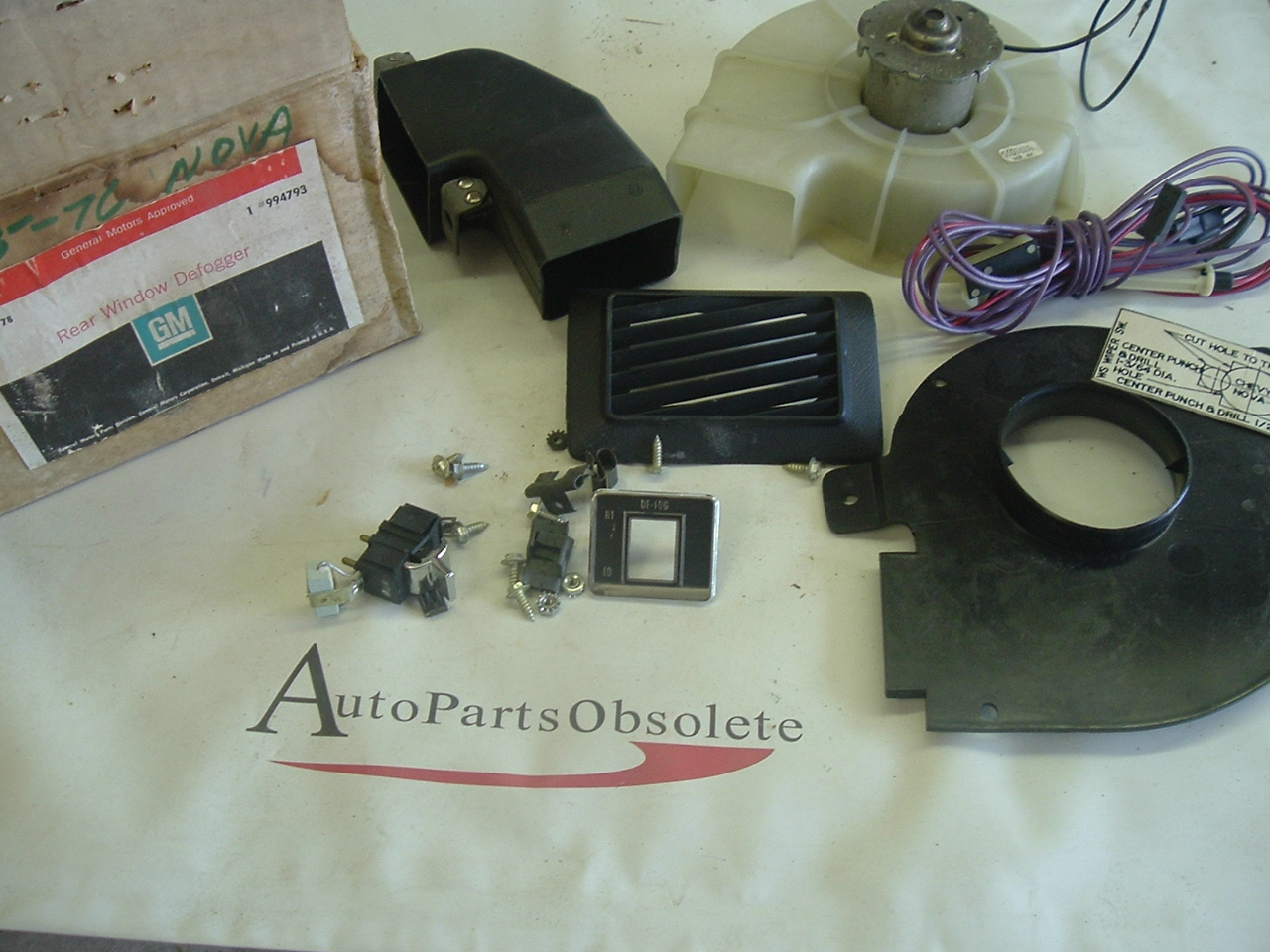 1975 1976 Chevrolet Nova rear defogger kit 994793 (a 994793)