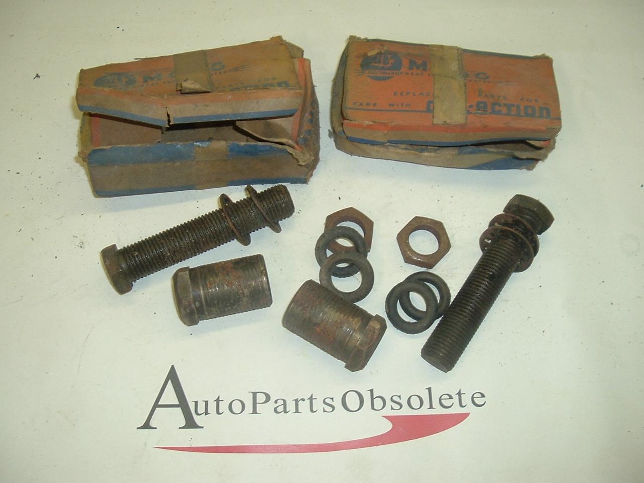 1937 -52 buick,cadillac lower susp pin & bushing kits pr usa made (a k102)