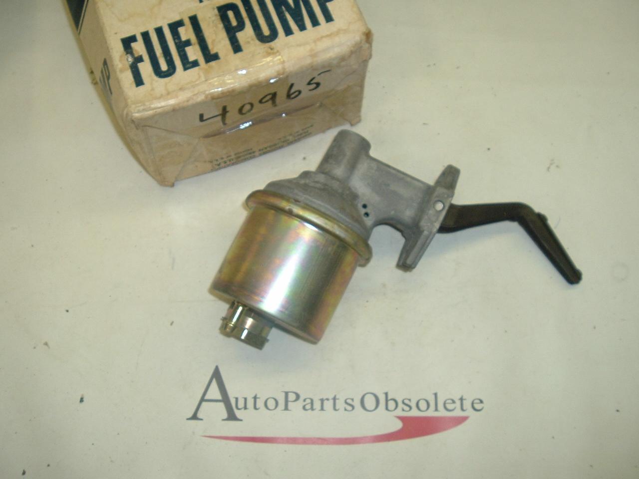 1972 Cadillac Fuel Pump NOS 40965 (a