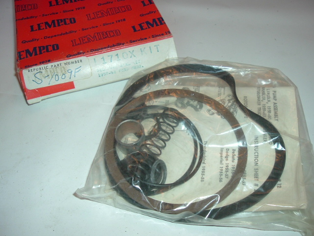 View Product1957-62 Ford Oil Pump Seal Kit NEW (A S1009F)