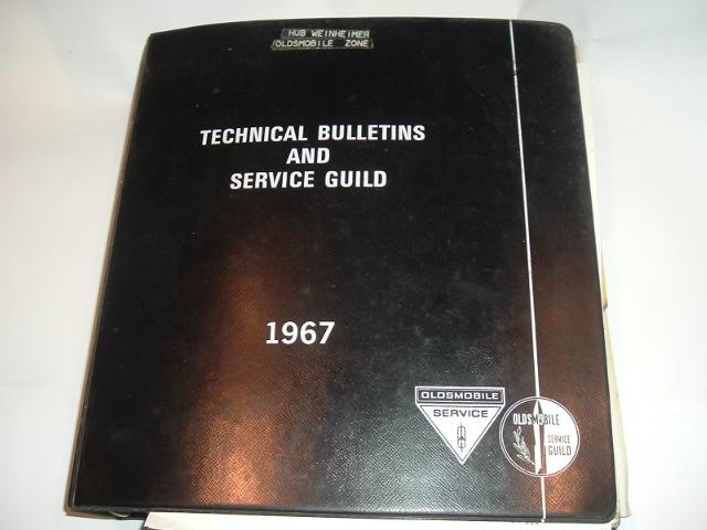 967 Oldsmobile Tech Bulletin & Training Manual Set (a 67 oldstechset)      Upload Image     Link Online      Back to Lis
