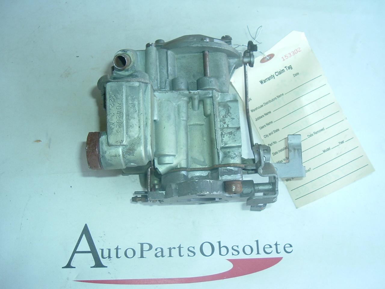 1971 1972 chevrolet vega carburetor 1bbl 7042023 (A 7042023ql)