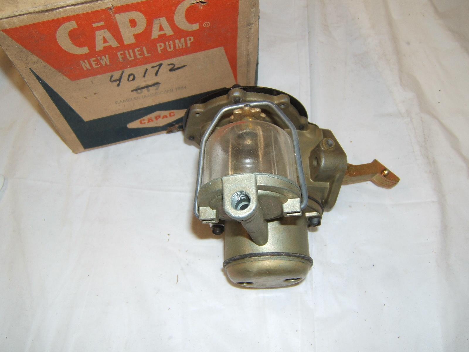 1964 Rambler American L head pump new USA made (a 619)