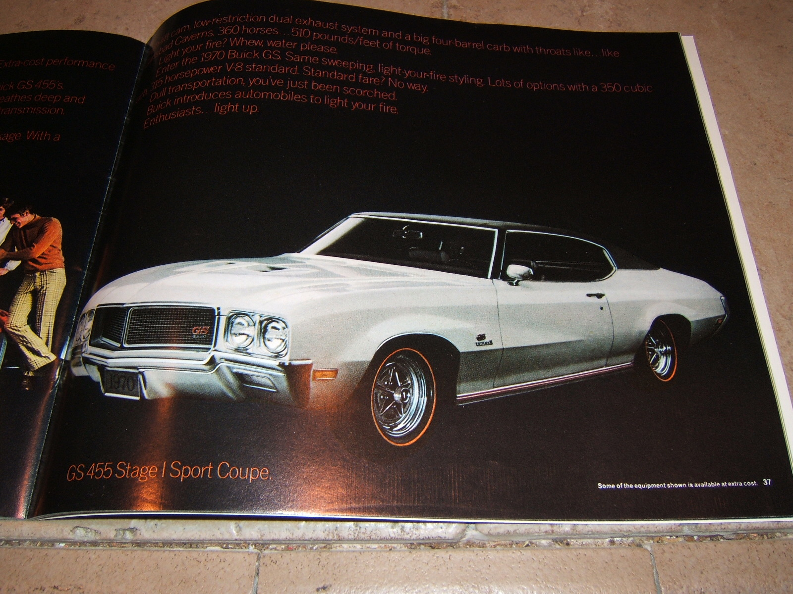 1970 Buick & GS sales book 60 page new (a 70 buick)