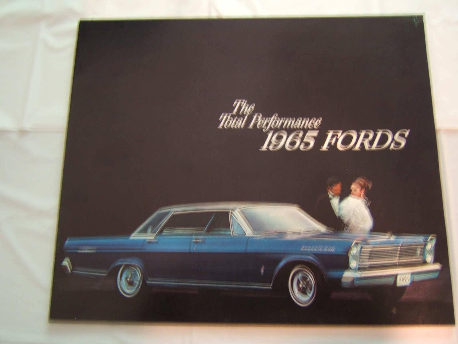 1965 FORD TOTAL PERFOMANCE SALES BOOK 23 PAGE (A 65 FORD TOTAL PERF)