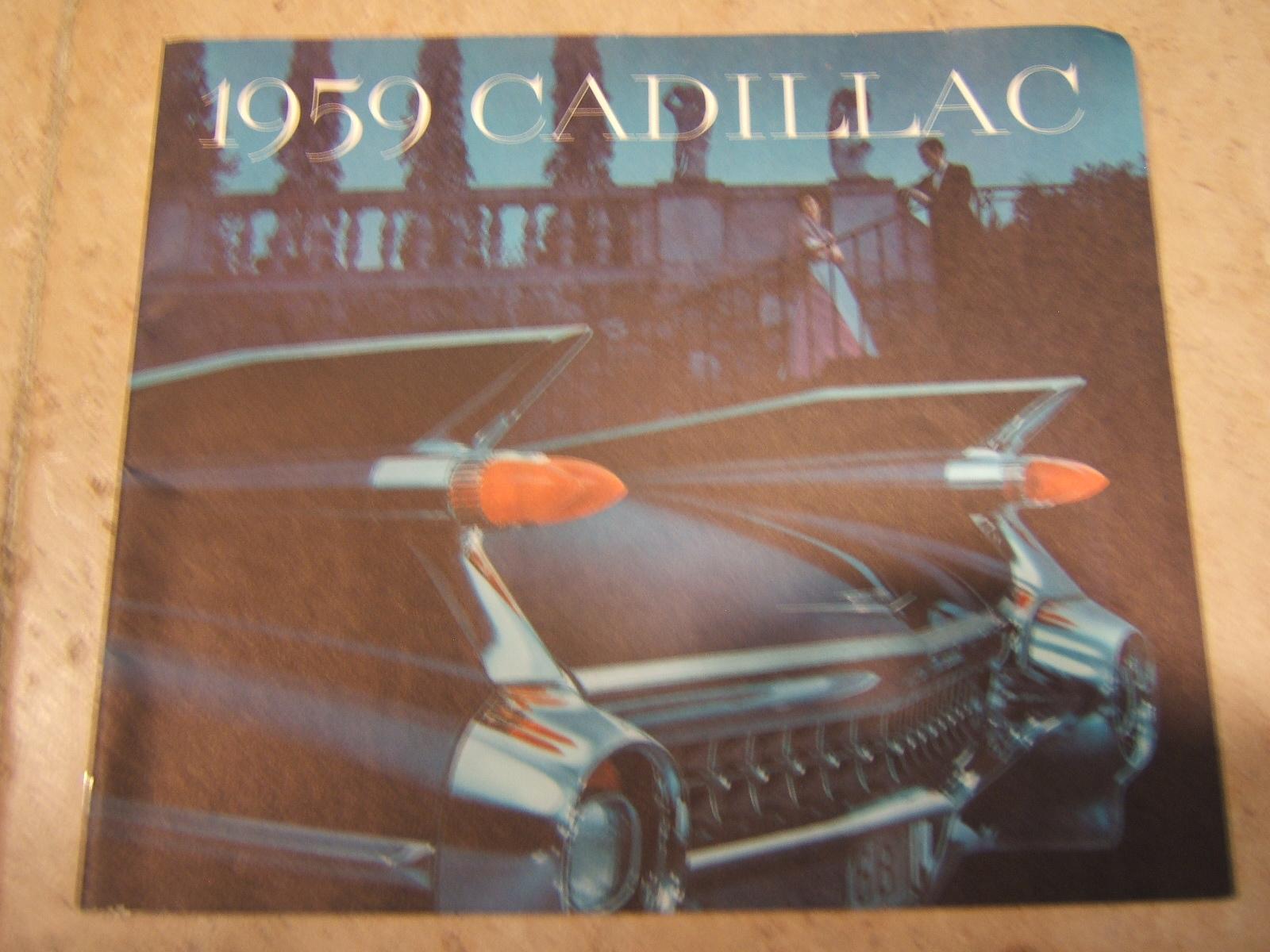 1959 Cadillac sales brochure (a 59 cad)