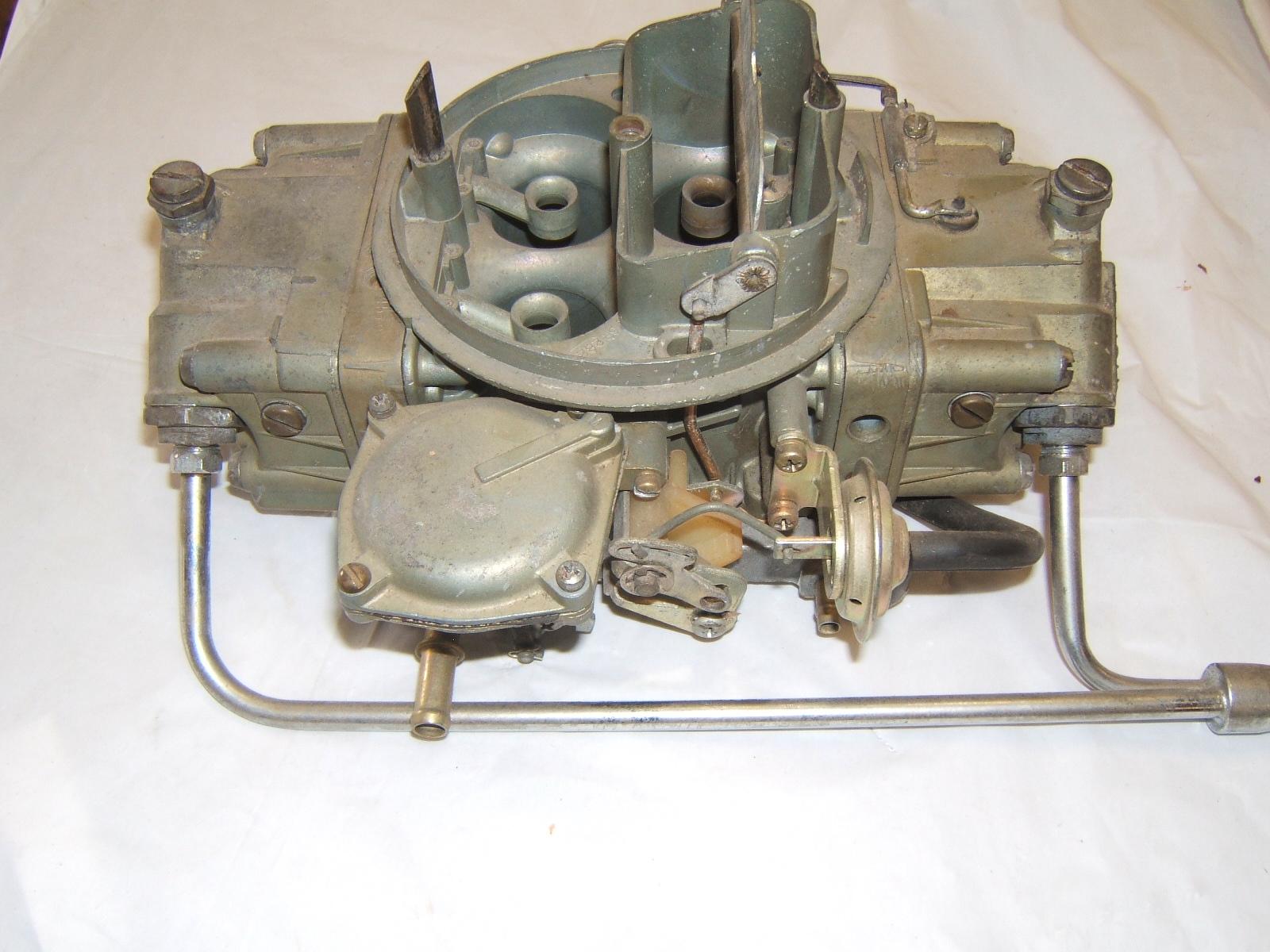 1966 Chevrolet chevelle 396/ 375 holley 4bbl carburetor 3893229 list 3613 (a 3893229 list 3613)