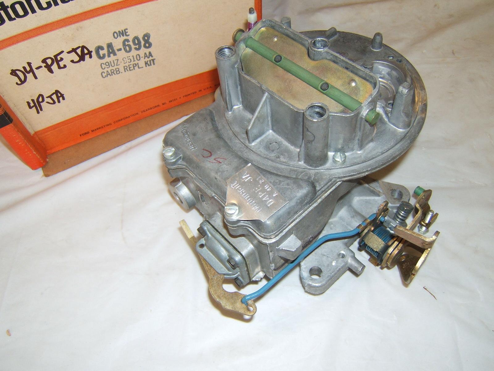 1965 1966 1967 1968 1969 ford truck carburetor 302 352 2 barrel a