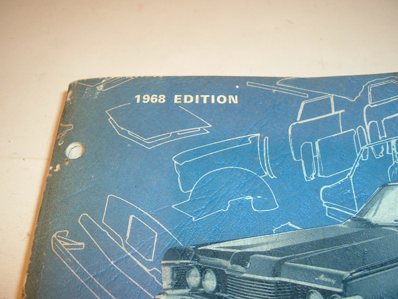 1968 Ford Autolite Quick Reference parts Catalog (A 1968 ford Q ref)