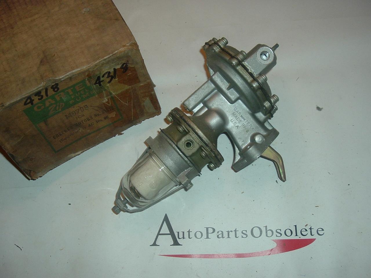 1954-63 Checker Willys jeep Kaiser Frazer fuel pump (a m873s)
