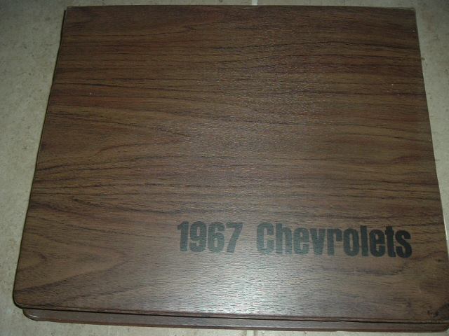 1967 Chevrolet Dealer Showroom Album Corvette Camaro (a 67chevydealerbook)
